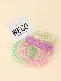 WEGO 【5点セット】クルクルゴム ウィゴー 帽子/ヘア小物