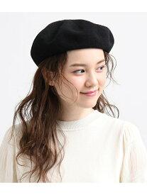 【SALE/60%OFF】ViS サーモベレー帽 ビス 帽子/ヘア小物 ベレー帽 ブラック ホワイト ベージュ