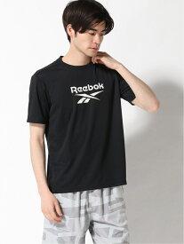 【SALE/70%OFF】Reebok Reebok/(M)ビッグロゴ半袖TEEシャツ ニッキー カットソー Tシャツ ブラック ネイビー ホワイト