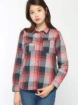 (W)W HIWツイルチェックシャツ長袖