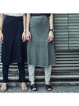 アイレットラップスカート