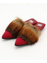 Fake Fur Slippers シューズ