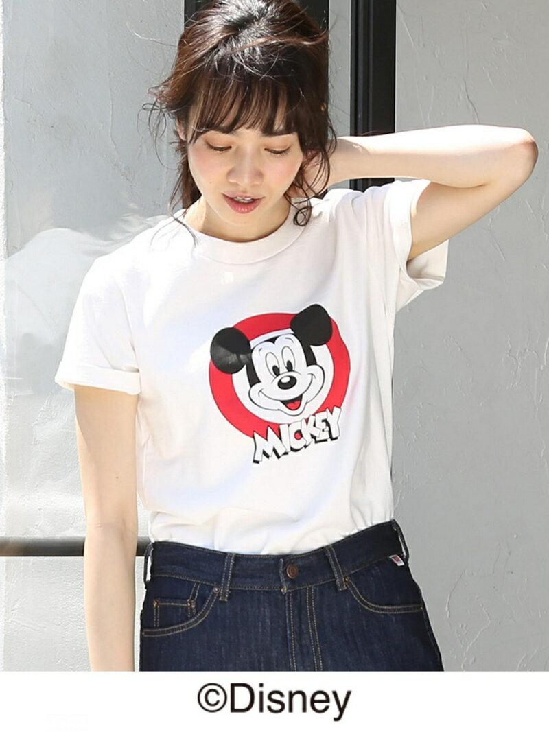 coen MICKEY(ミッキー)Tシャツ/Disney(ディズニー) コーエン カットソー
