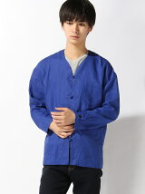 BLUECHIP/(M)Linen Relax China Shirts