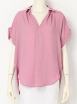 スキッパーフレンチヒラリボンシャツ