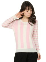STRIPE KNIT PO