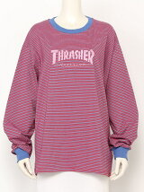 THRASHERボーダーロンTEE