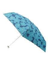 フラワープリントミニ折りたたみ傘