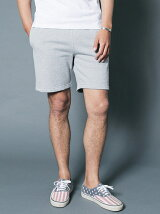 ANTIQUE URAKE SWEAT SHIRRING SHORTS