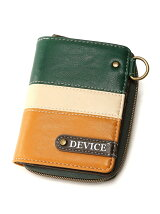 DEVICE/(M)トリコ折財布