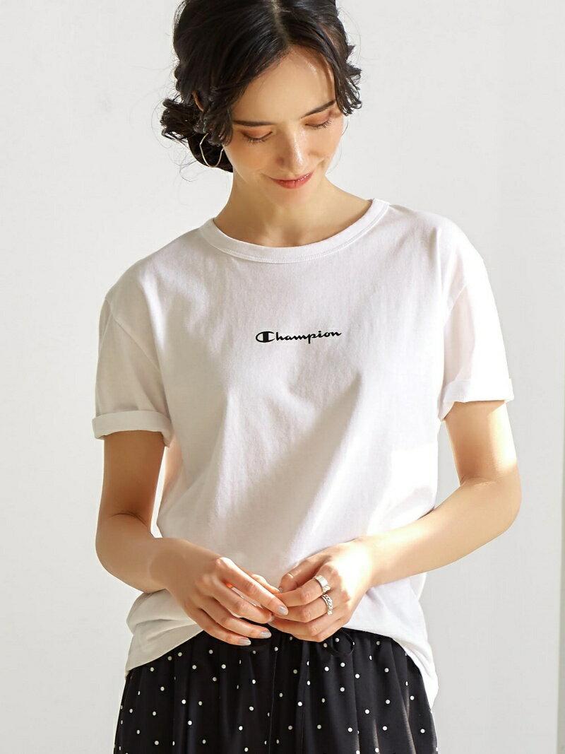 UNITED ARROWS green label relaxing ◆[別注チャンピオン]SC Champion×GL フロントロゴ Tシャツ ユナイテッドアローズ グリーンレーベルリラクシング カットソー【送料無料】