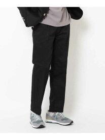 OPAQUE.CLIP Dickiesセンタープレスパンツ オペークドットクリップ パンツ/ジーンズ クロップド/半端丈パンツ ブラック ベージュ ネイビー【送料無料】