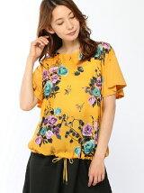 ローズブーケプリントTシャツ