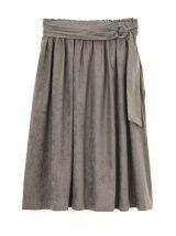 エルモザスエードスカート