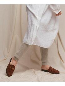 DOORS siiwaアンゴラ混ニットレギンス アーバンリサーチドアーズ ファッショングッズ タイツ/レギンス ホワイト【送料無料】