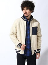 (M)リバーシブルボアジップアップジャケット