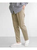 LIGHT TWILL ANKLE TROUSER