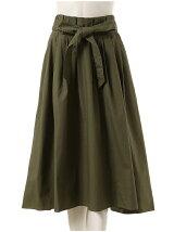 バックロングフィッシュテールプリーツスカート