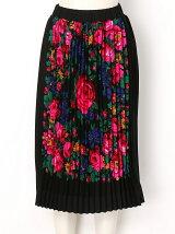 スカーフプリーツスカート