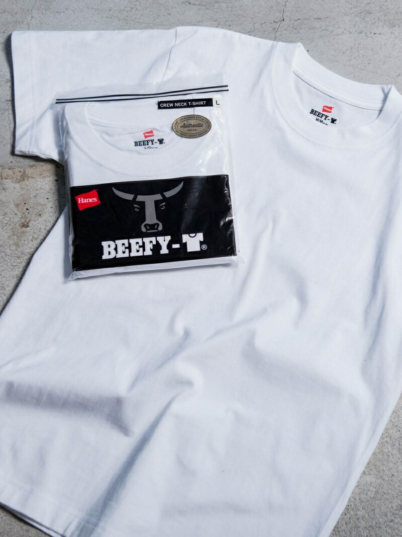 【SALE/30%OFF】UNITED ARROWS green label relaxing 別注 【WEB限定】 [ヘインズ] SC★★ Hanes BEEFY-T GLR / Tシャツ ユナイテッドアローズ グリーンレーベルリラクシング カットソー【RBA_S】【RBA_E】