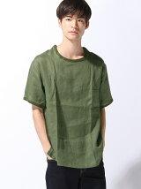 (M)フレンチリネンBIGシャツT
