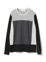 ALOYE / Color Blocks Long Sleeve Tee