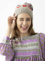 HEART KNIT CAP