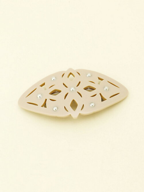(W)art deco metal barrette