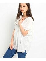 UVカット2WAYノーカラースキッパーシャツ