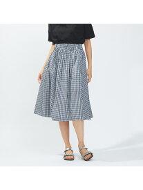 collex ギンガムミモレスカート コレックス スカート【送料無料】