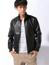 DS∴LEATHER JACKET