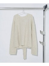 Back Bow knit Top