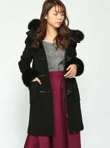 Faux Fur SLV WoolダッフルCT