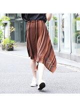 アシメニットスカート