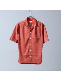 【SALE/40%OFF】ABAHOUSE LASTWORD テンセルジャージーオープンカラーシャツ アバハウス シャツ/ブラウス 長袖シャツ ピンク ブラック ブルー【送料無料】