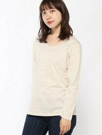 【SALE/50%OFF】studio CLIP キノウソザイBレースLSPO スタディオクリップ カットソー Tシャツ ホワイト グレー ブラック