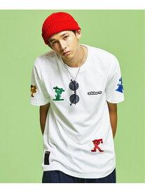 【SALE/60%OFF】adidas Originals グーフィー Tシャツ [GOOFY TEE] アディダスオリジナルス アディダス カットソー Tシャツ ホワイト