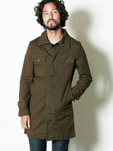 SULFUR OX STRETCH MILITARY COAT