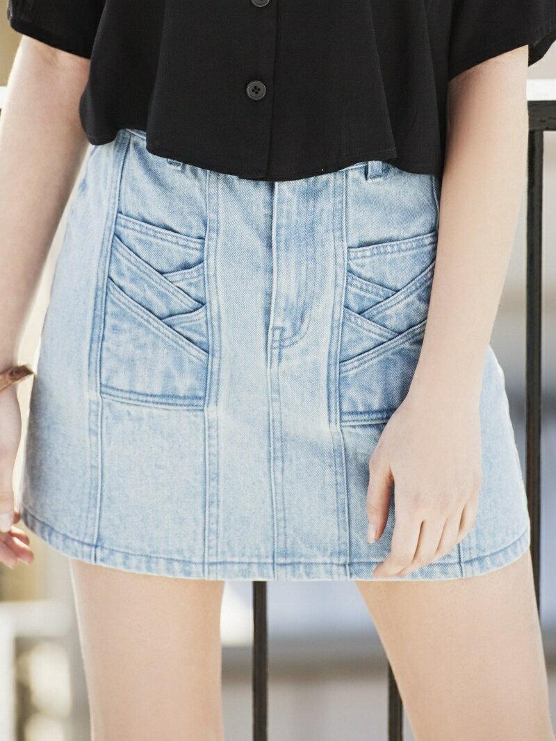 【SALE/30%OFF】EGOIST ヴィンテージライクタイトミニスカート エゴイスト スカート【RBA_S】【RBA_E】【送料無料】