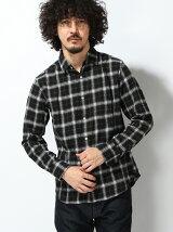(M)フランネルチェックシャツUJP(日本限定)