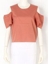 GINGAM OPEN SHOULDER TOPS