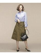 Aラインポケットスカート