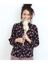 【maegamimami×ROPE' PICNIC】夢に見た花 フリルブラウス