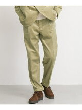 FREEMANS SPORTING CLUB JP CORDUROY ONE TUCK PANTS