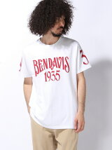 (M)BEN DAVIS white label/FOOTBALL TEE