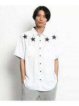 【WEB限定】レーヨンスタープリントシャツ