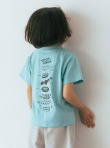 MOS BURGER *green label relaxing kids コラボTEE A