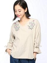 C・胸刺繍ビーチキャンディー袖BL