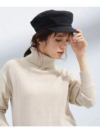 【SALE/50%OFF】La Maison de Lyllis PATA ナノユニバース 帽子/ヘア小物 帽子その他 ブラック カーキ【送料無料】