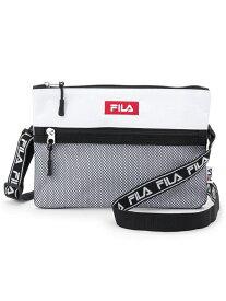 FILA2WAYロゴテープサコッシュ グローブ バッグ
